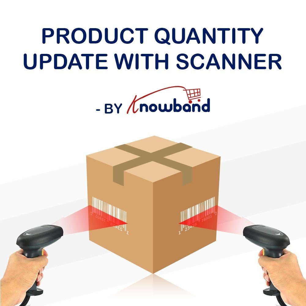 module - Быстрое & массовое редактирование - Knowband  - Product Update With Scanner - 1