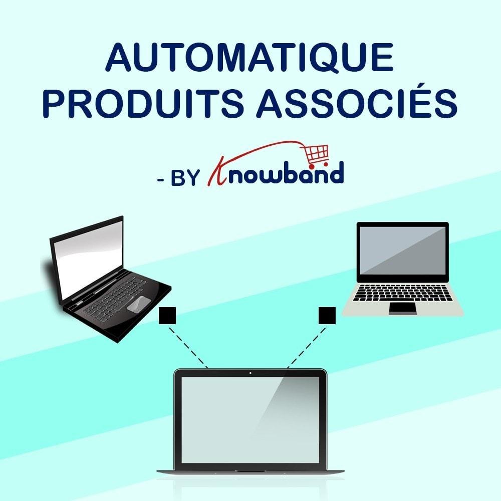 module - Ventes croisées & Packs de produits - Knowband - Produits Similaires Automatiques - 1