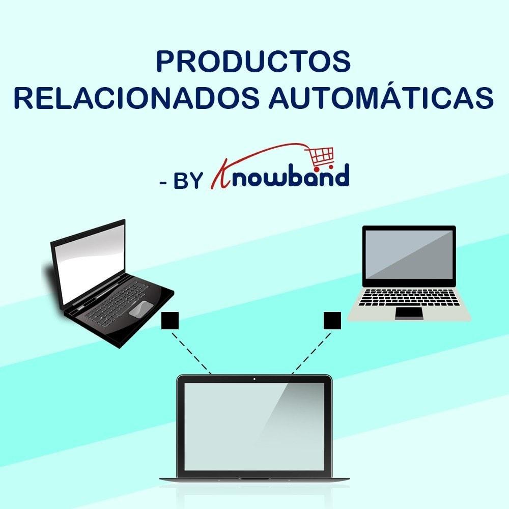 module - Ventas cruzadas y Packs de productos - Knowband - Productos Relacionados Automáticos - 1