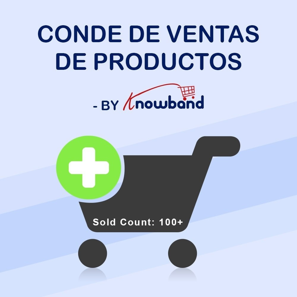 module - Informaciones adicionales y Pestañas - Knowband - Conteo de ventas de productos - 1
