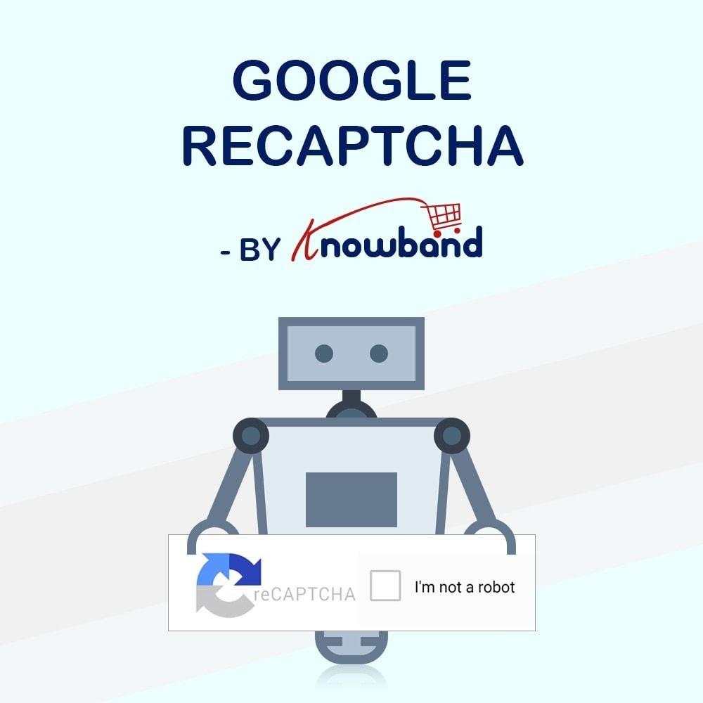 module - Sécurité & Accès - Google reCaptcha - 1
