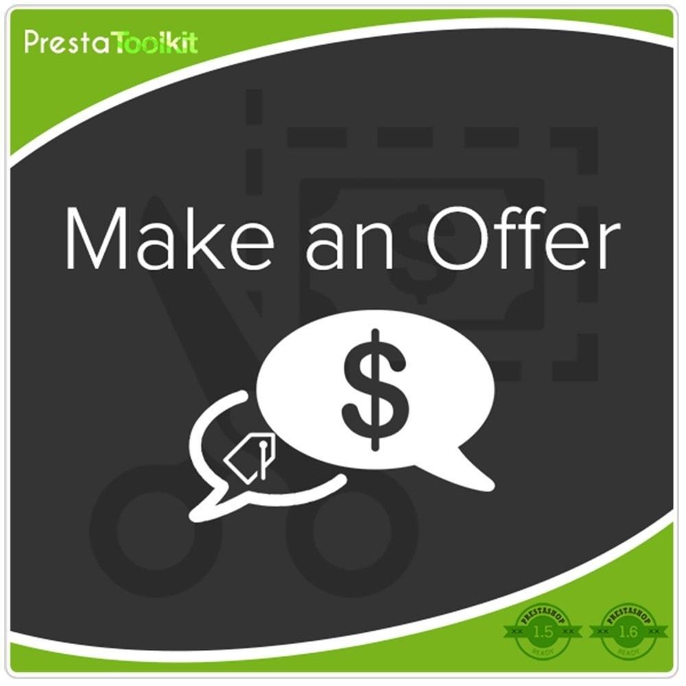 module - Gestione Prezzi - Fai un'offerta, Un affare - 1
