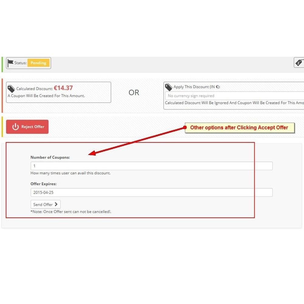 module - Preisverwaltung - Machen Sie ein Angebot, Schnäppchen - 9