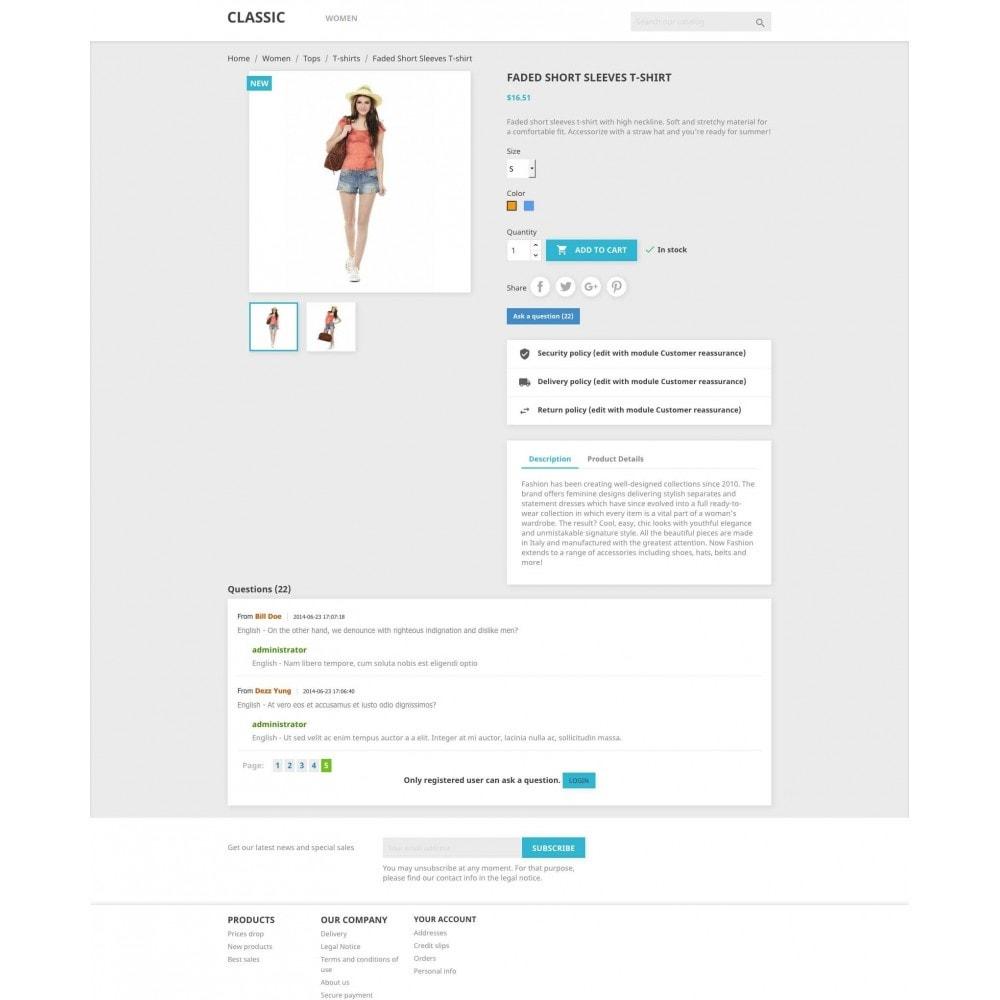 module - FAQ (Veelgestelde vragen) - Product Questions - 3