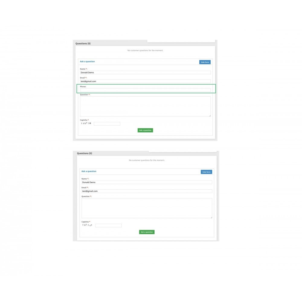 bundle - FAQ (questions fréquentes) - Pack: Blog PRO, Product questions, FAQ - 4