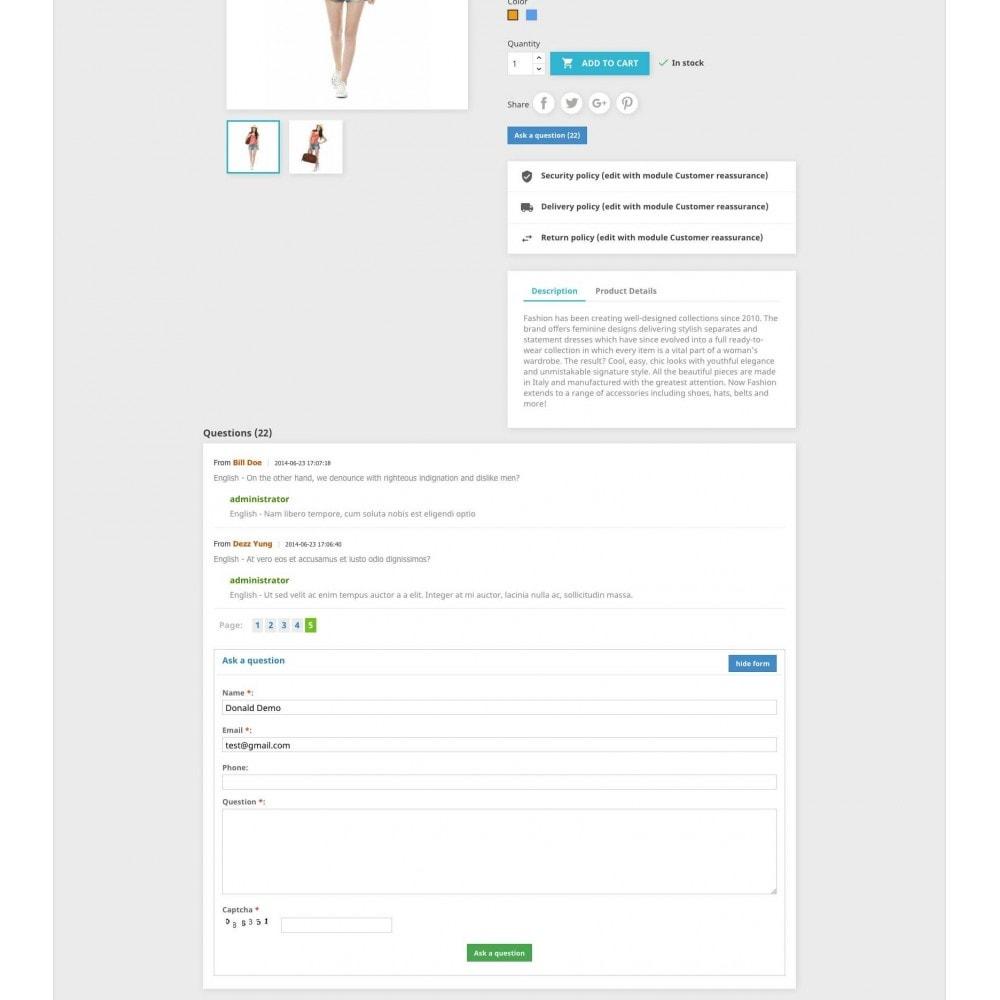 bundle - FAQ (questions fréquentes) - Pack: Blog PRO, Product questions, FAQ - 6