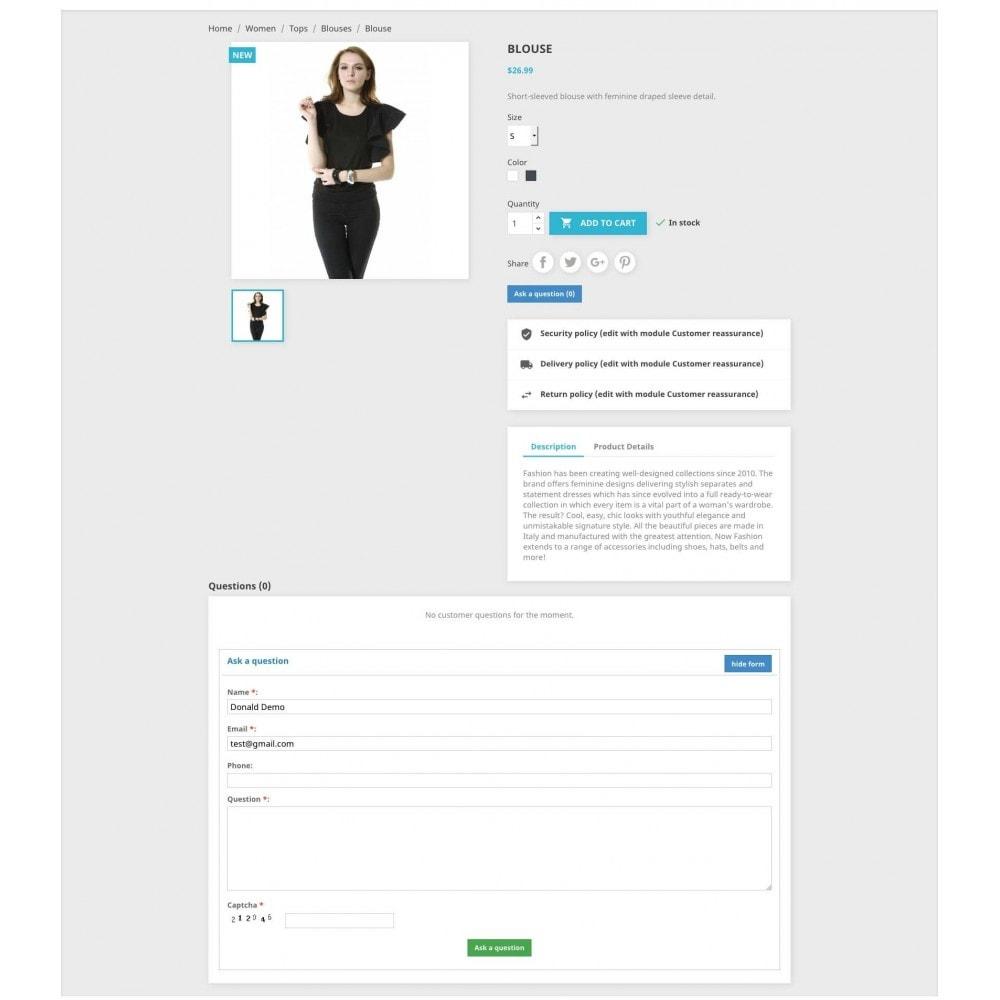 module - FAQ (Veelgestelde vragen) - Product Questions - 7