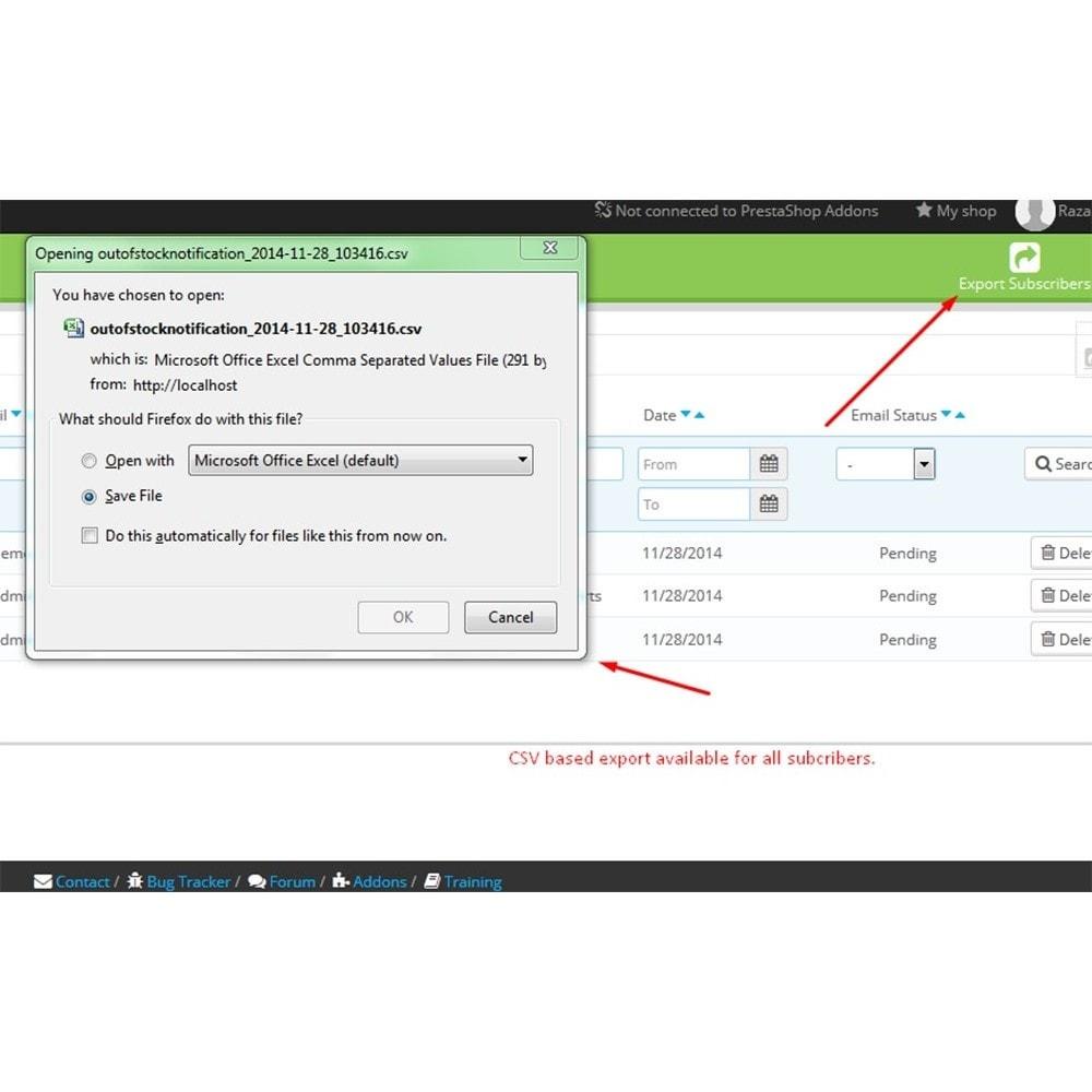 module - Email & Notifiche - Notifica di scadenza - 7
