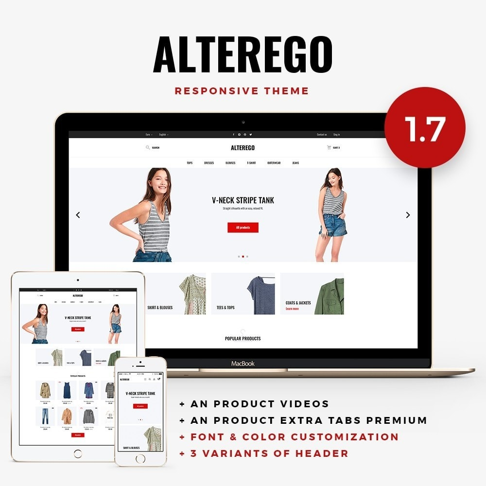 theme - Moda & Calzature - Alterego Fashion Store - 1