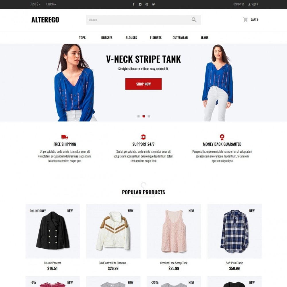 theme - Moda & Calzature - Alterego Fashion Store - 6