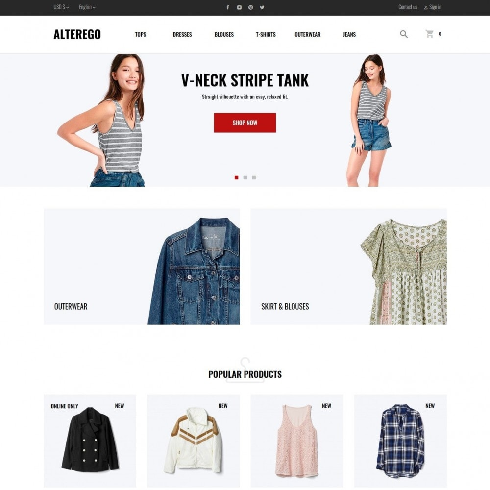 theme - Moda & Calzature - Alterego Fashion Store - 9