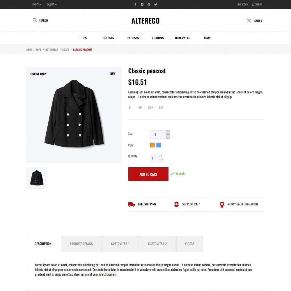 theme - Moda & Calzature - Alterego Fashion Store - 13