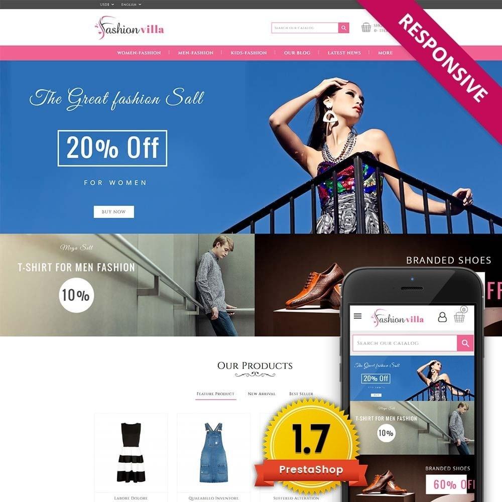 theme - Moda & Calzature - Fashion Villa - 1