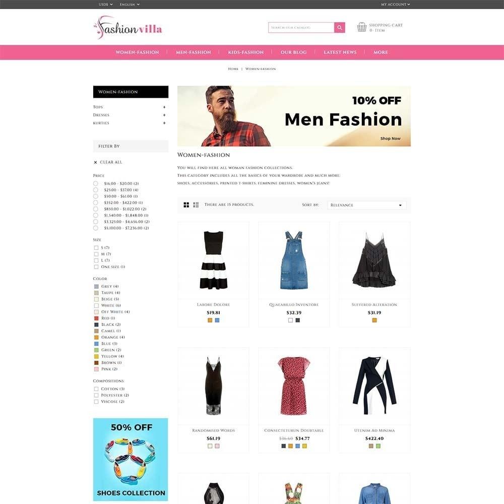 theme - Mode & Schoenen - Fashion Villa - 3