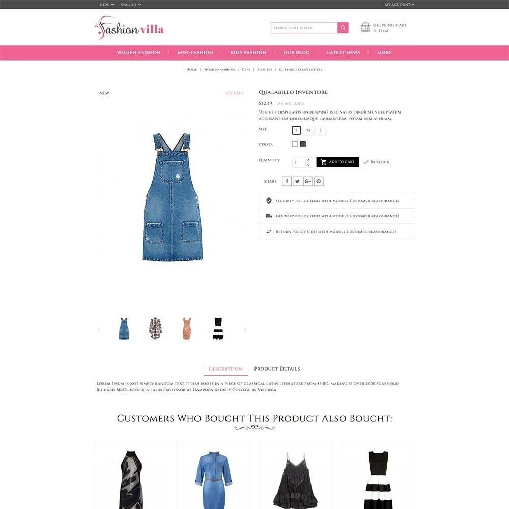 theme - Мода и обувь - Fashion Villa - 5