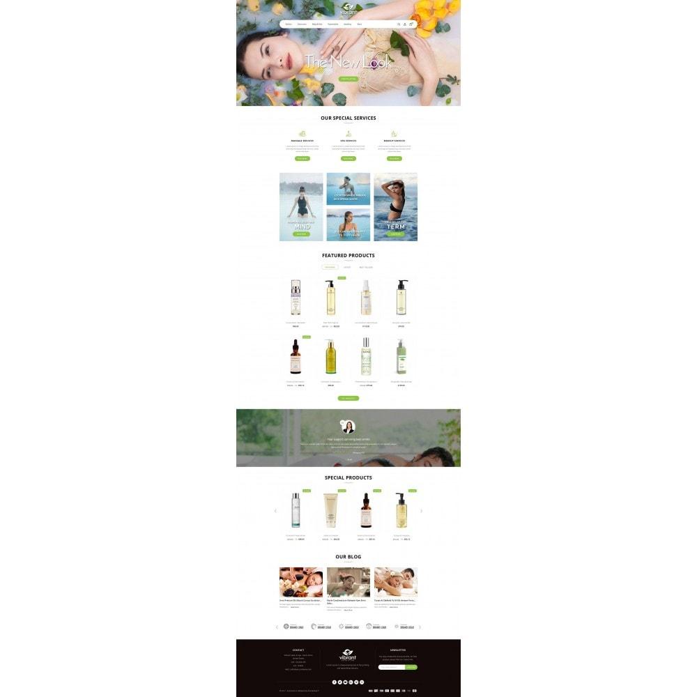 theme - Здоровье и красота - Vibrant Salon & Spa Store - 2