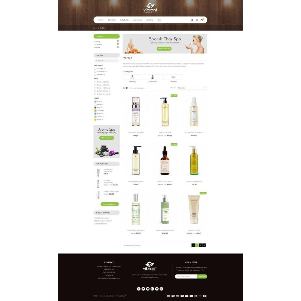 theme - Здоровье и красота - Vibrant Salon & Spa Store - 3