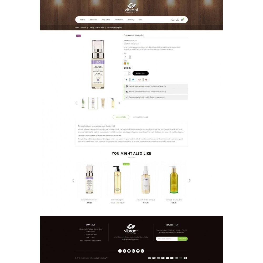 theme - Здоровье и красота - Vibrant Salon & Spa Store - 5