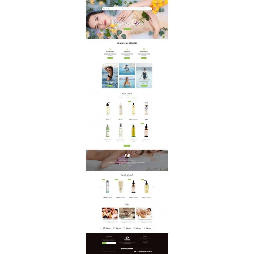 theme - Gesundheit & Schönheit - Vibrant Salon & Spa Store - 10