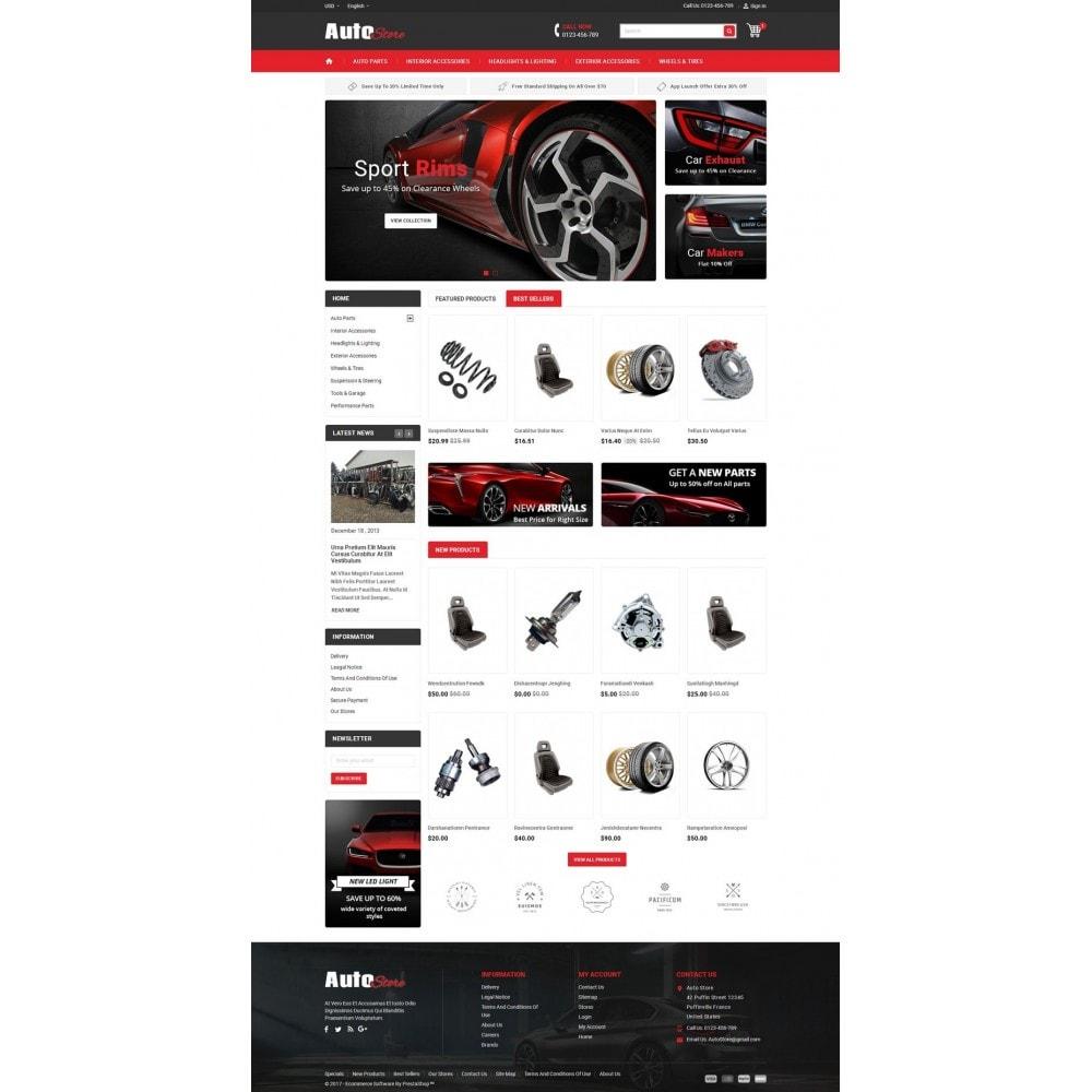 theme - Carros & Motos - Auto Store - 2