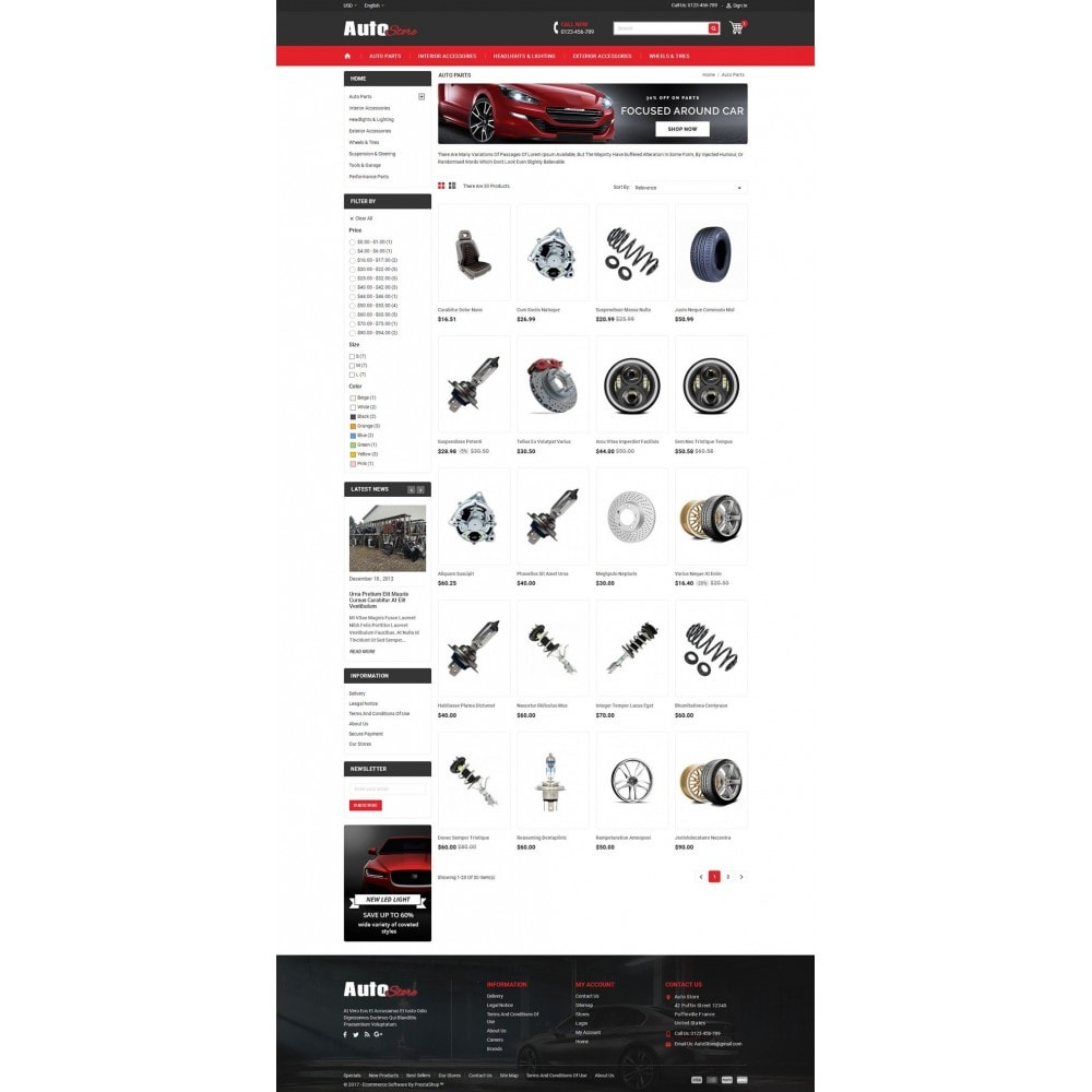 theme - Авто и Мото - Auto Store - 3