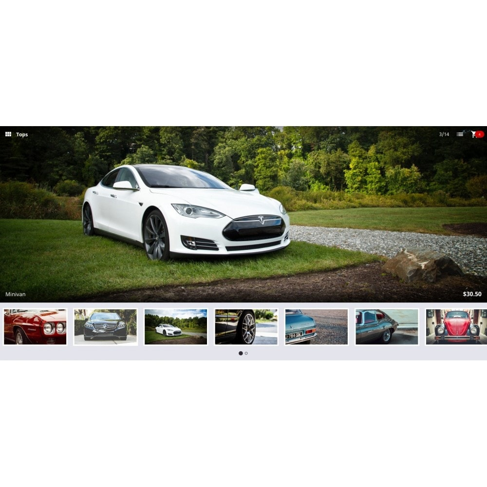 module - Sliders & Galerias - Fullscreen responsive slider of products catalog - 2