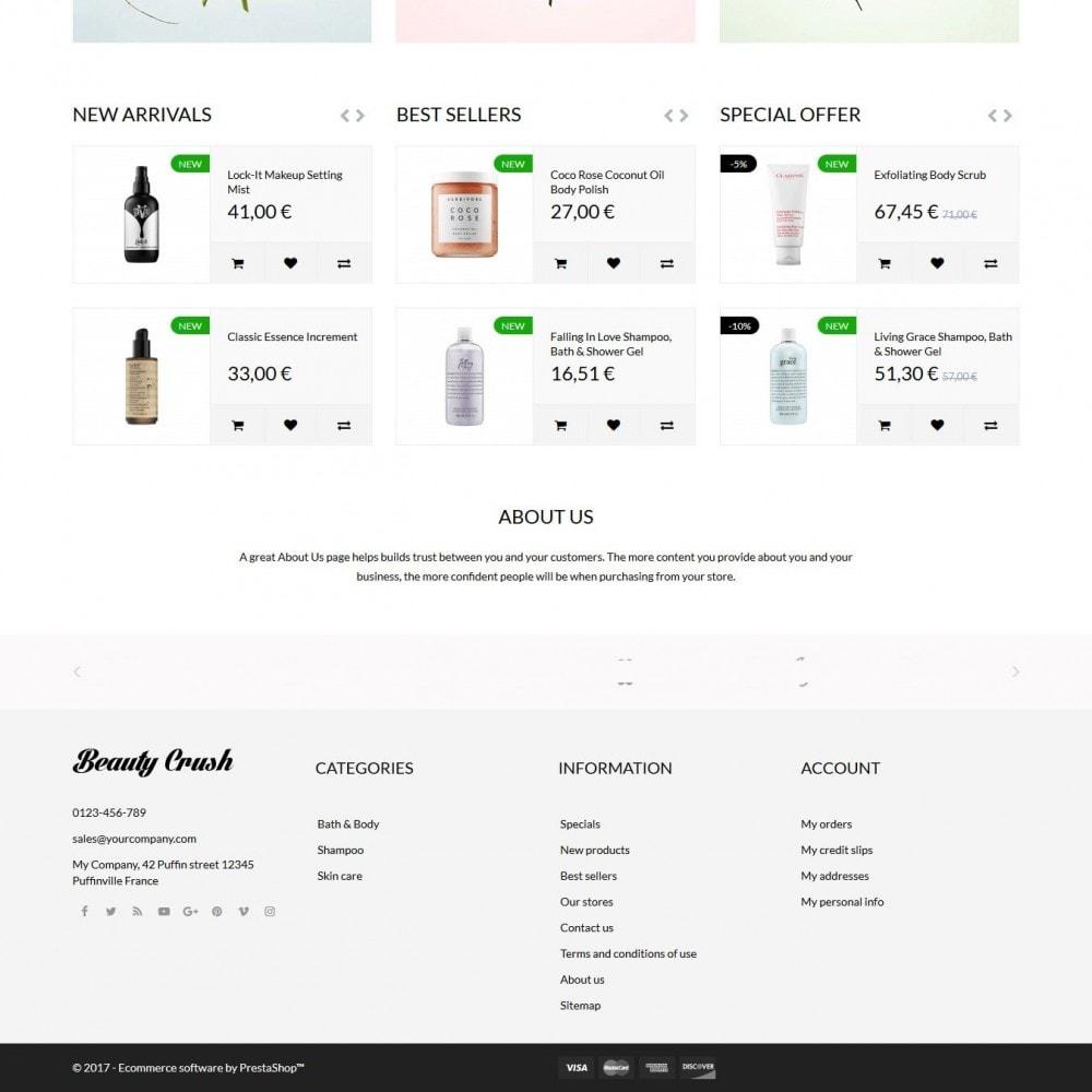 theme - Zdrowie & Uroda - Beauty Crush Cosmetics - 4