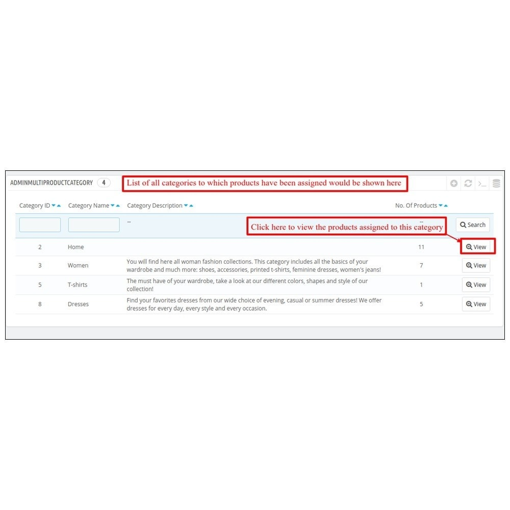 module - Edition rapide & Edition de masse - Webkul Multi Product Manager - Bulk Assign Feature - 4