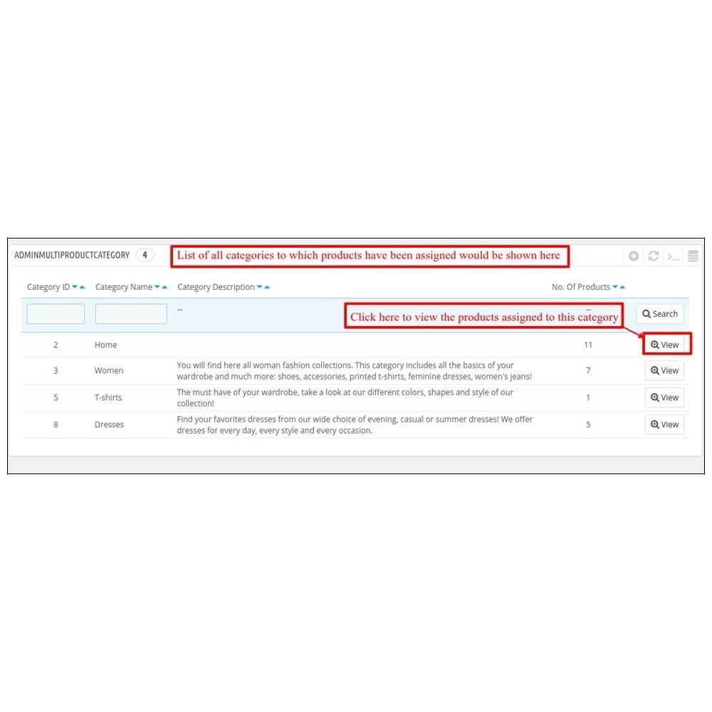 module - Edition rapide & Edition de masse - Webkul Multi Product Manager - Bulk Assign Feature - 6