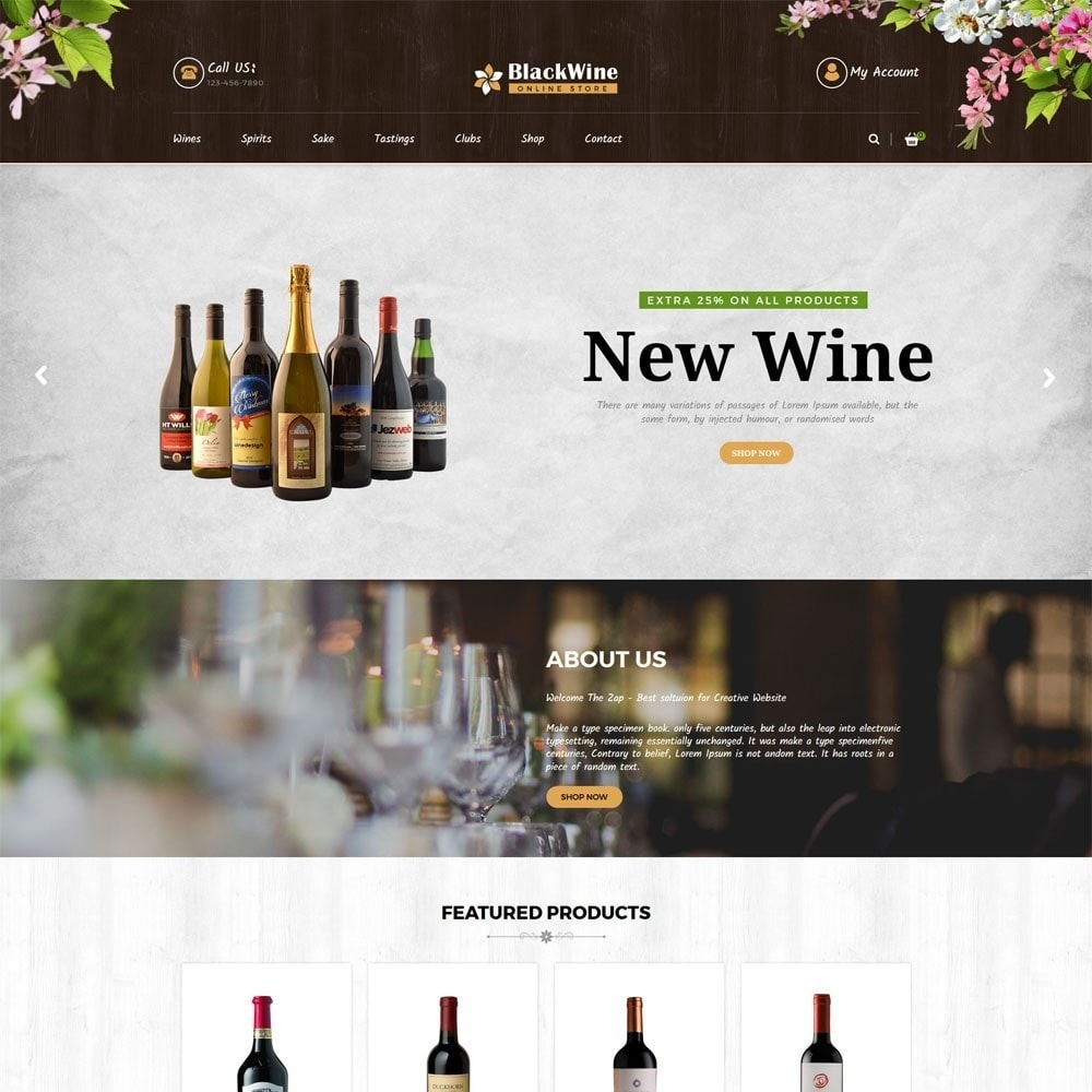 theme - Napoje & Wyroby tytoniowe - Wine Stores - 2