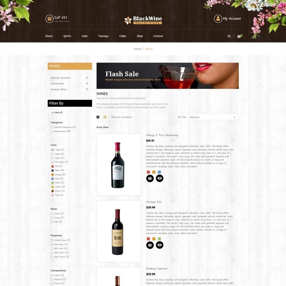 theme - Temas PrestaShop - Wine Stores - 3