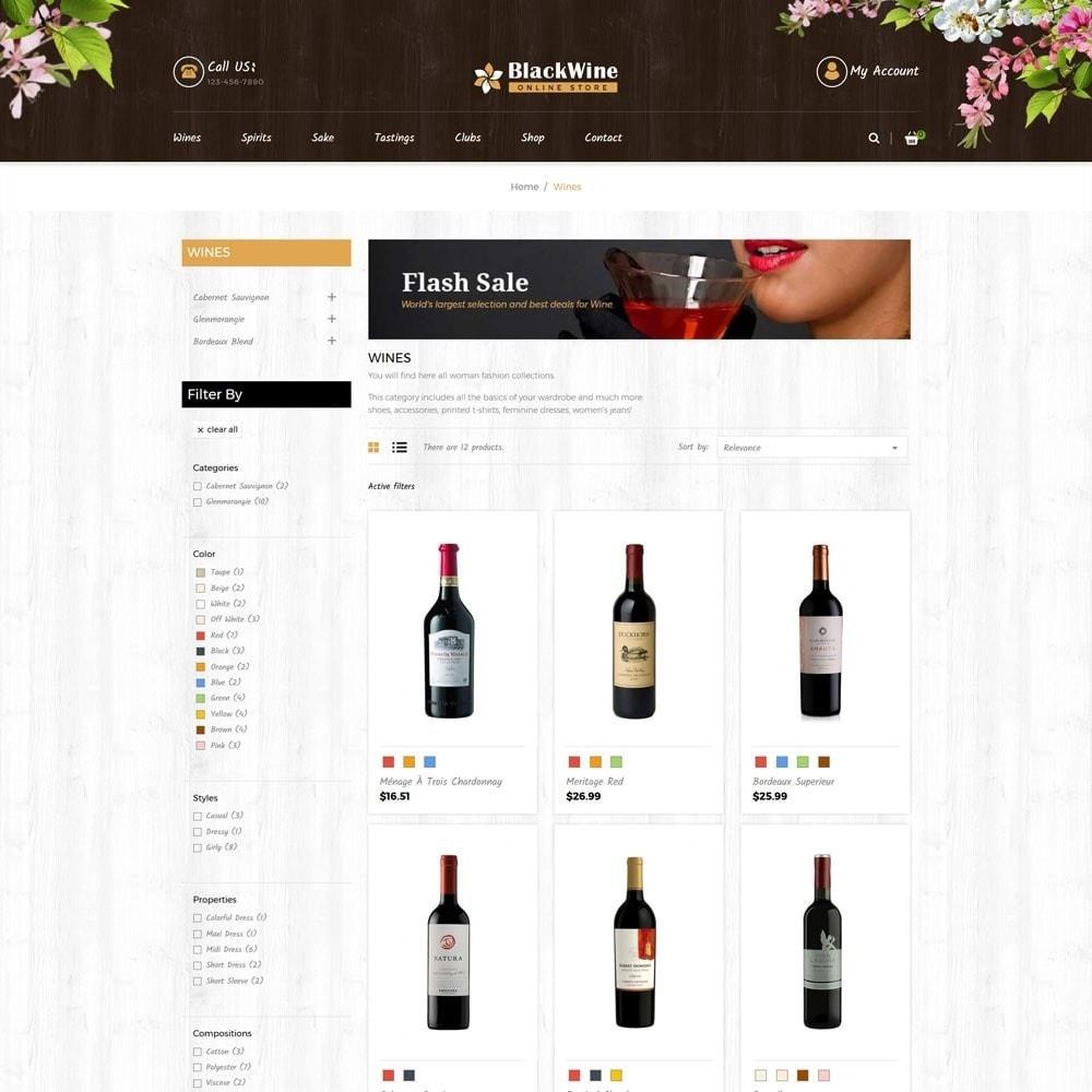 theme - Temas PrestaShop - Wine Stores - 4