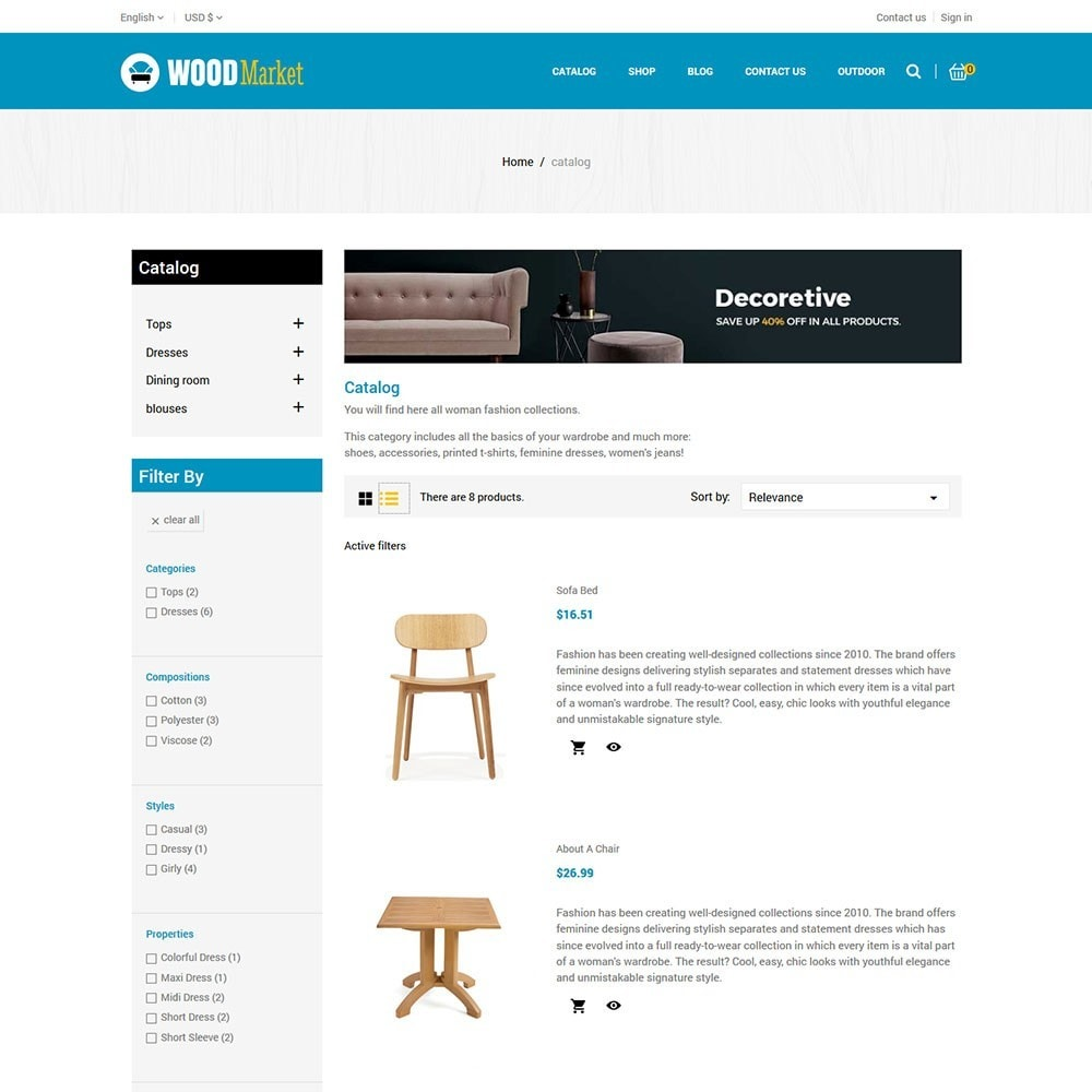 theme - Huis & Buitenleven - Wood - Furniture Store - 4