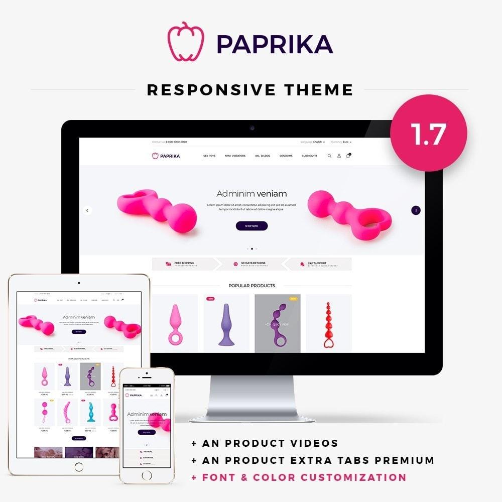 theme - Bielizna & Dorośli - Paprika - SexShop - 1