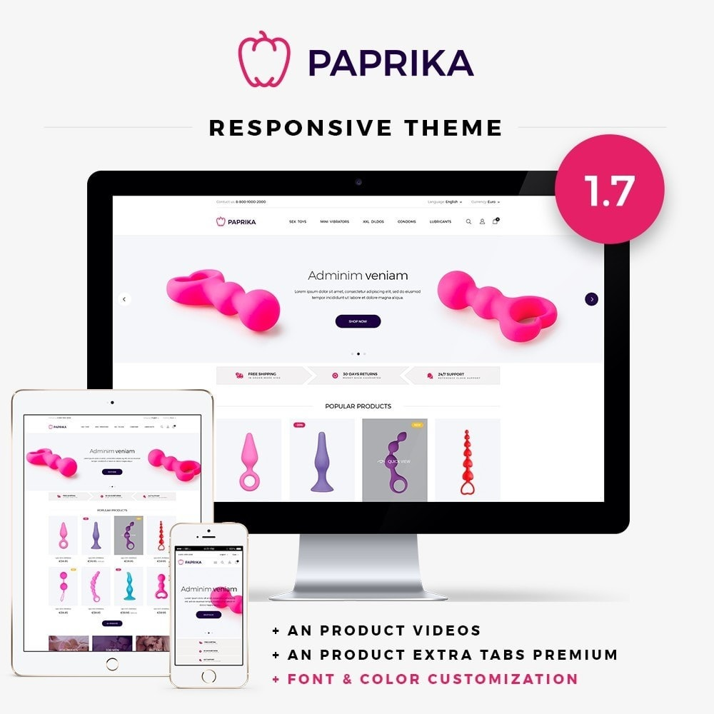 theme - Lenceria y Adultos - Paprika - SexShop - 1