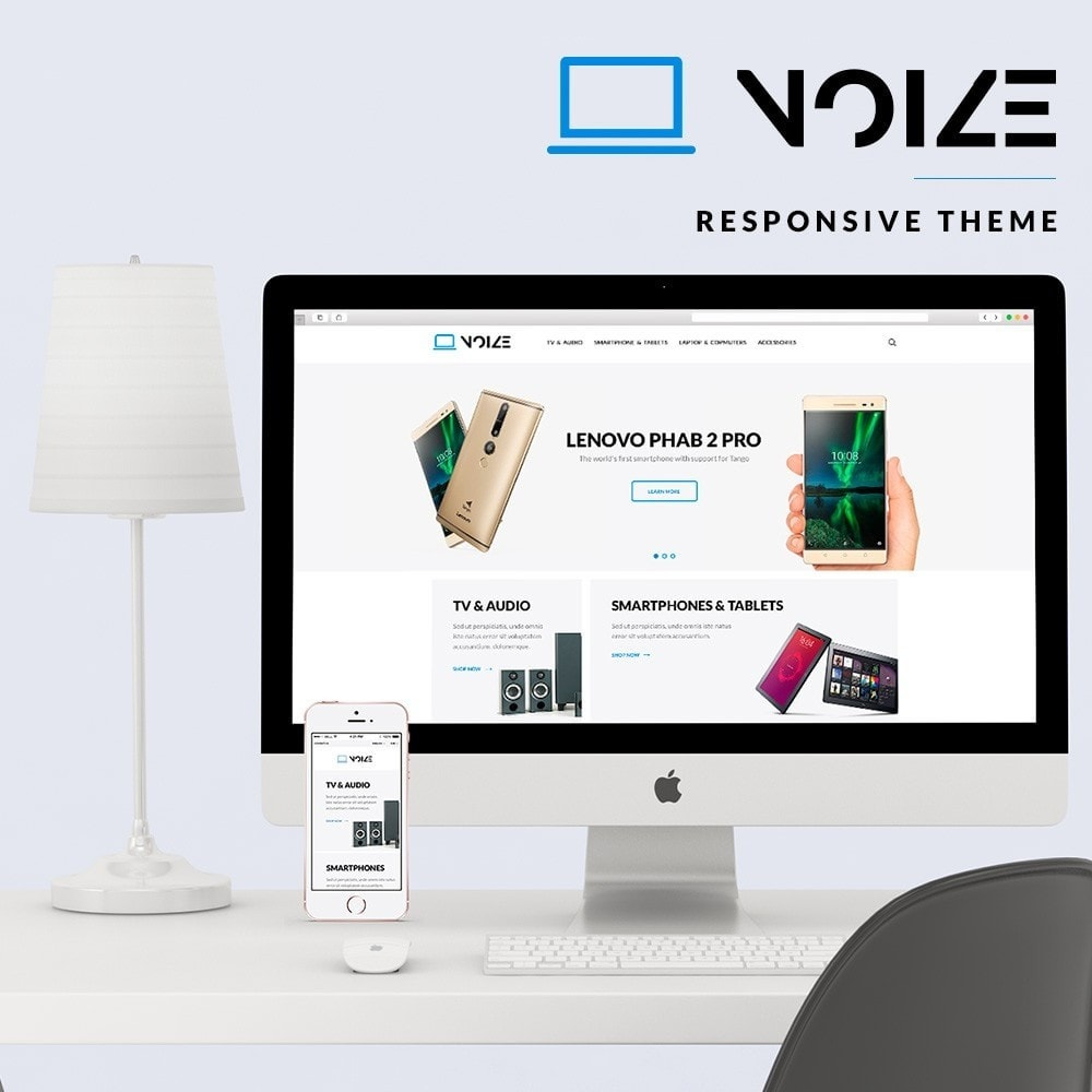 theme - Electronics & Computers - Noize - High-tech Shop - 1