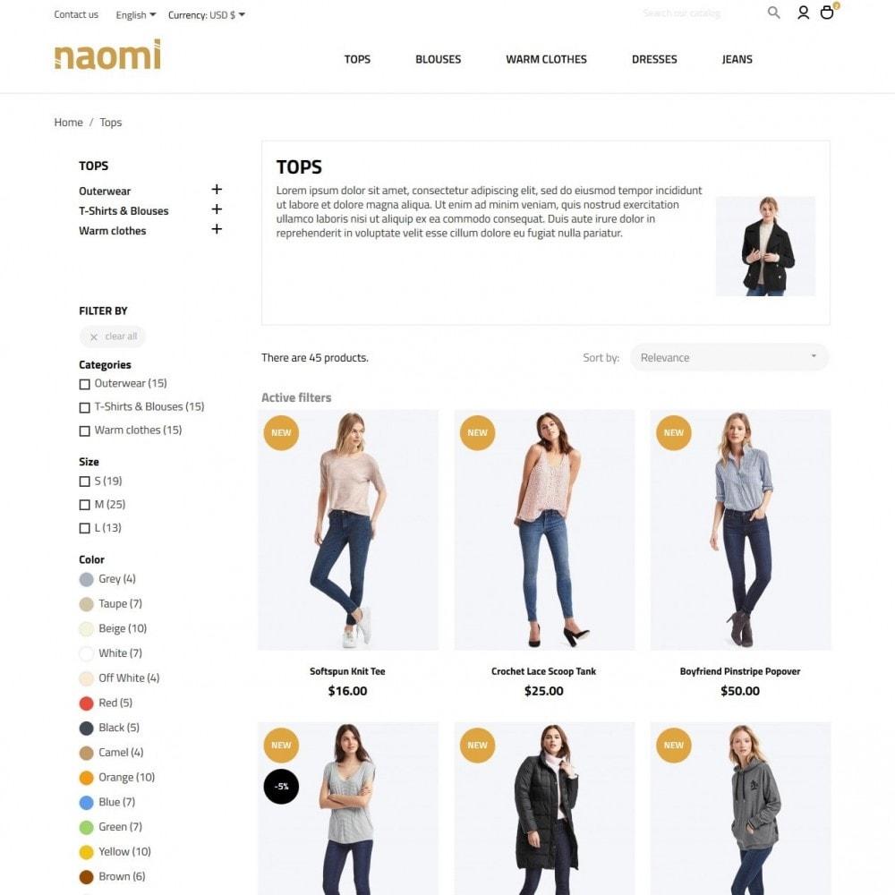 theme - Moda y Calzado - Naomi Fashion Store - 5