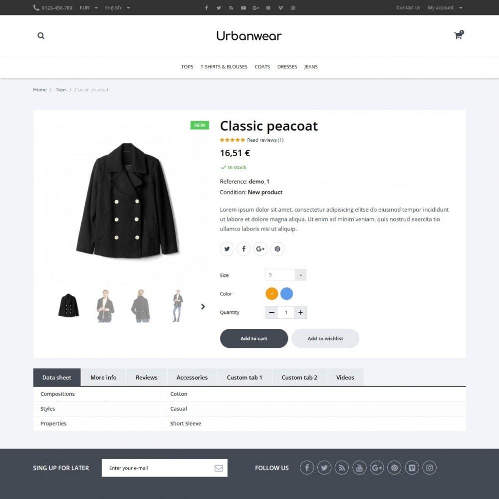 theme - Mode & Schoenen - Urbanwear  Fashion Store - 6