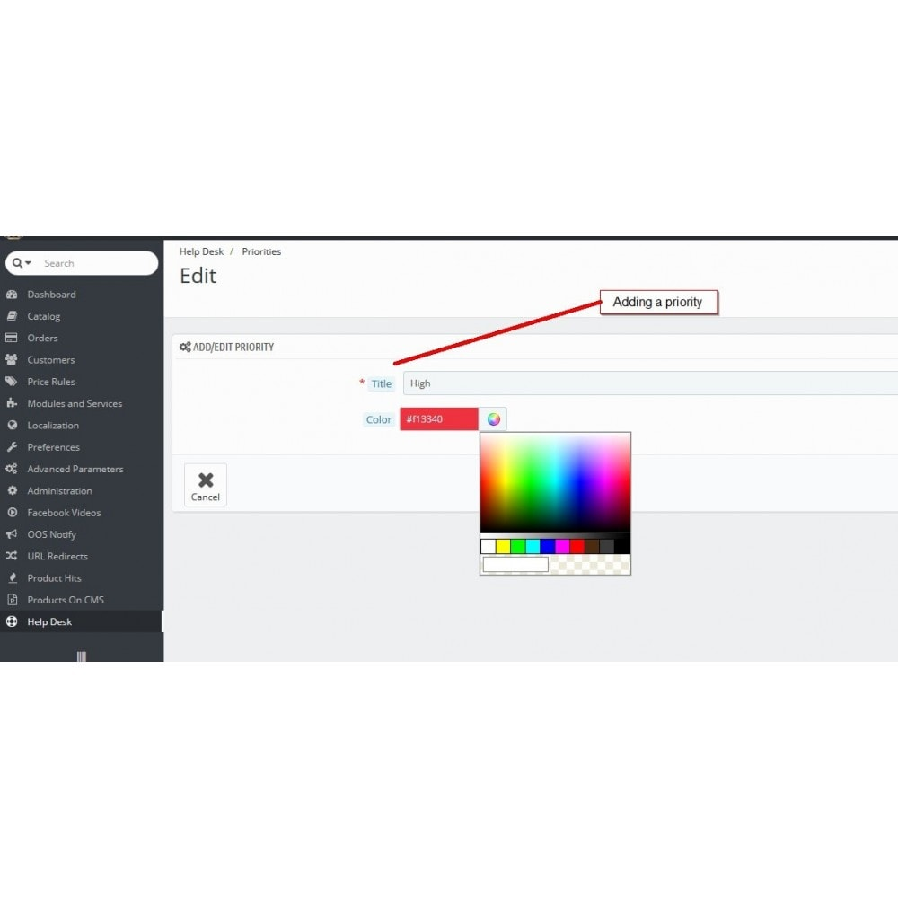 module - Support & Chat Online - Service d'assistance, Gestion de support - 5