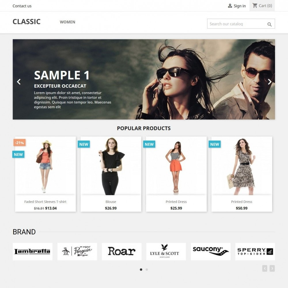 module - Бренды и производители - Brand Manager - Partners Logo Carousel & Gallery - 3