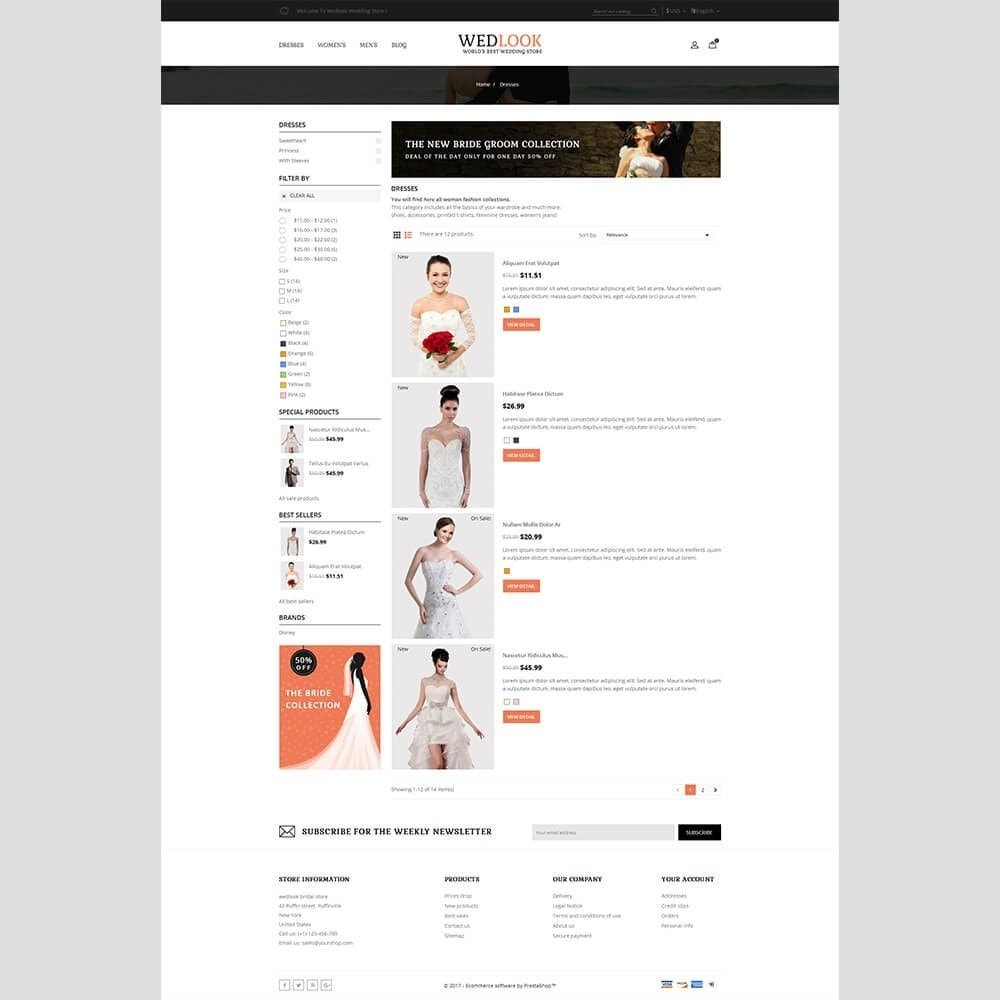 theme - Mode & Schoenen - Wedlook Wedding Store - 4