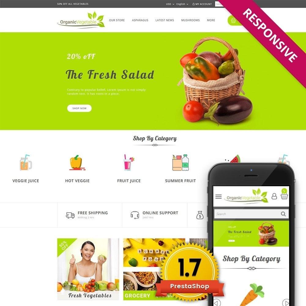 theme - Gastronomía y Restauración - Organic Vegetable Store - 1