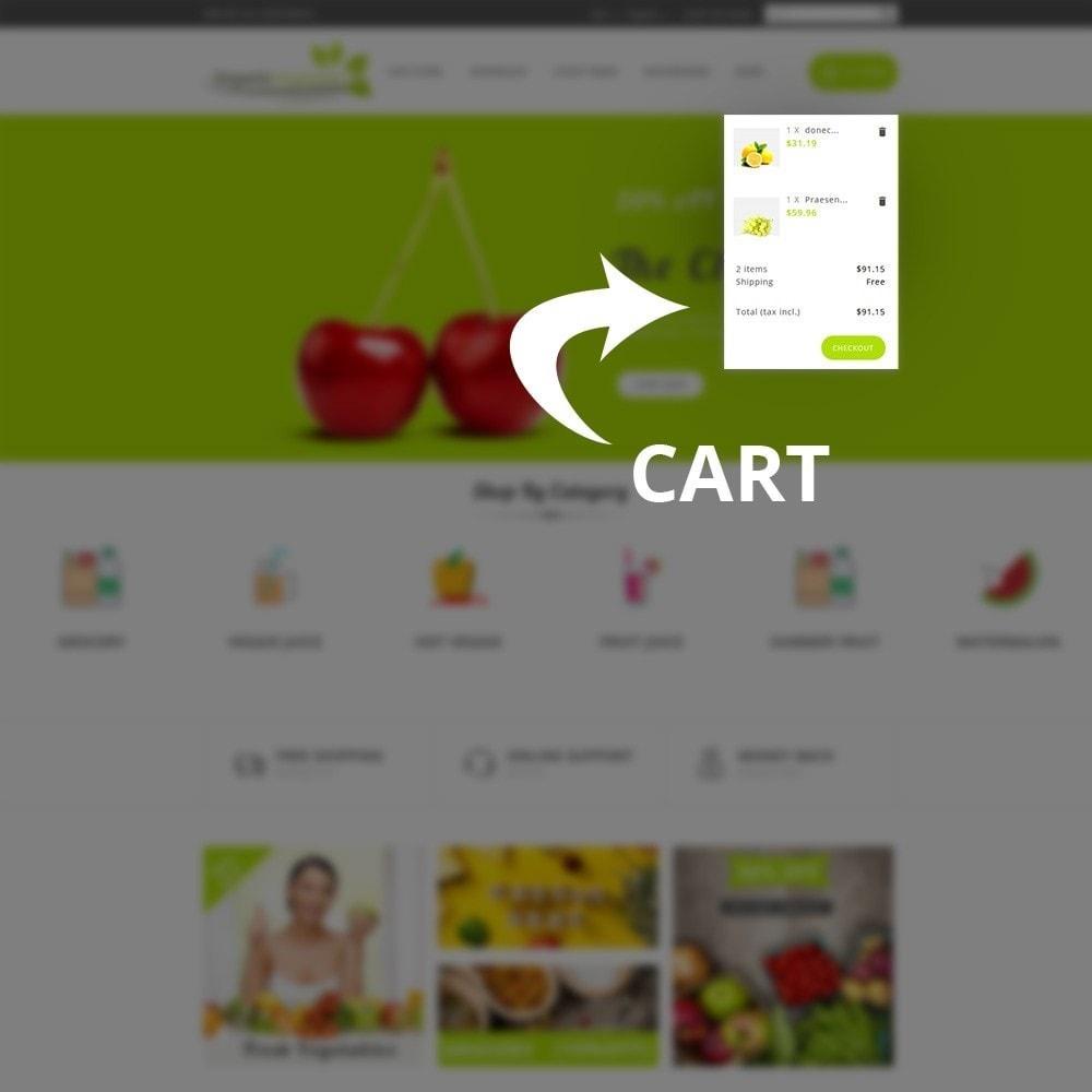 theme - Gastronomía y Restauración - Organic Vegetable Store - 7