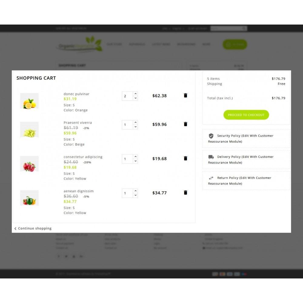 theme - Gastronomía y Restauración - Organic Vegetable Store - 8