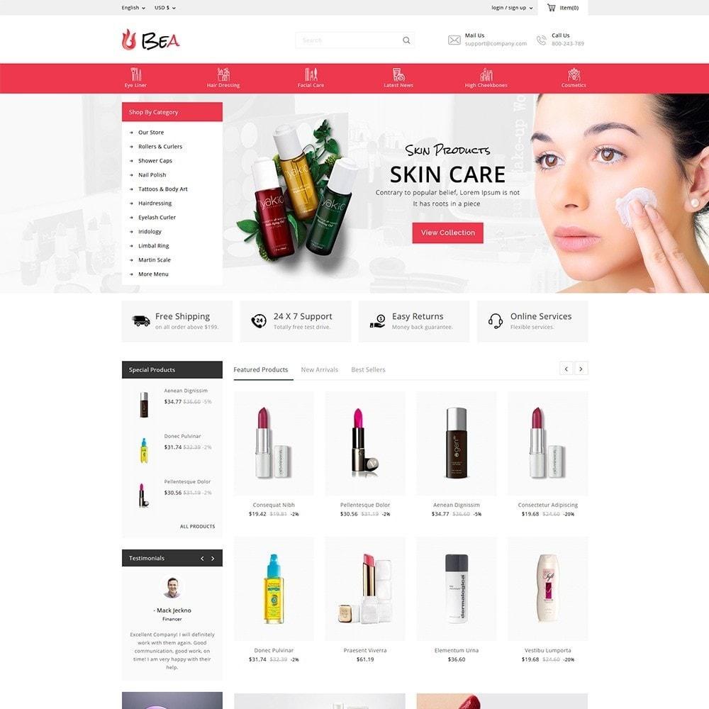 theme - Zdrowie & Uroda - Beashop Beauty Store - 2
