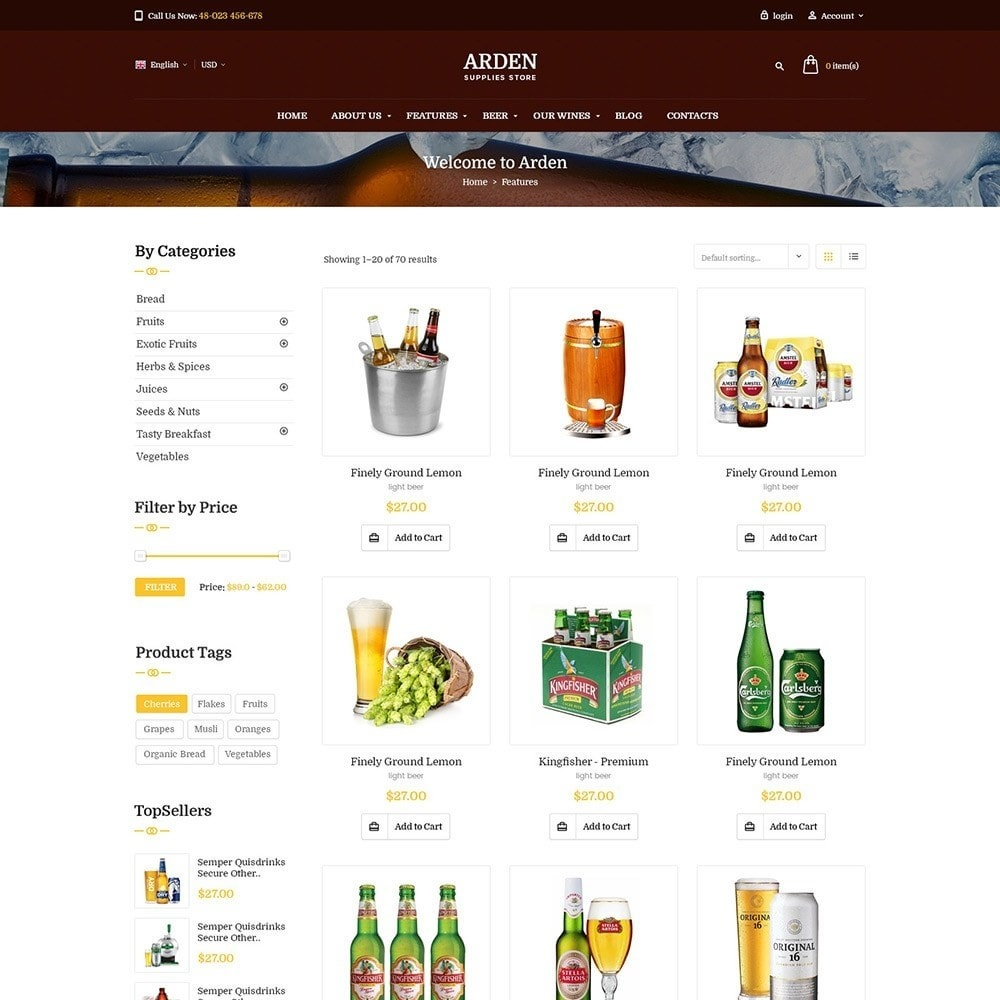 theme - Drink & Wine - Pts Arden - 5