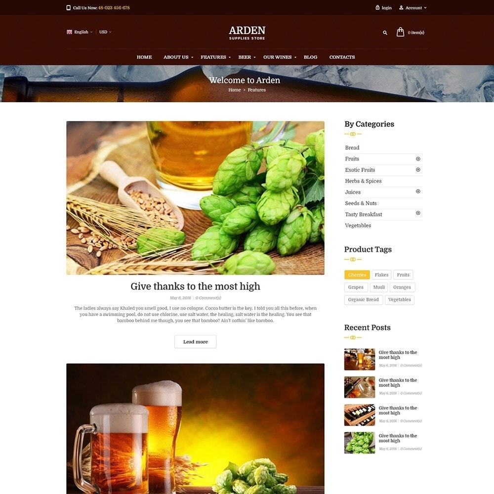 theme - Drink & Wine - Pts Arden - 7