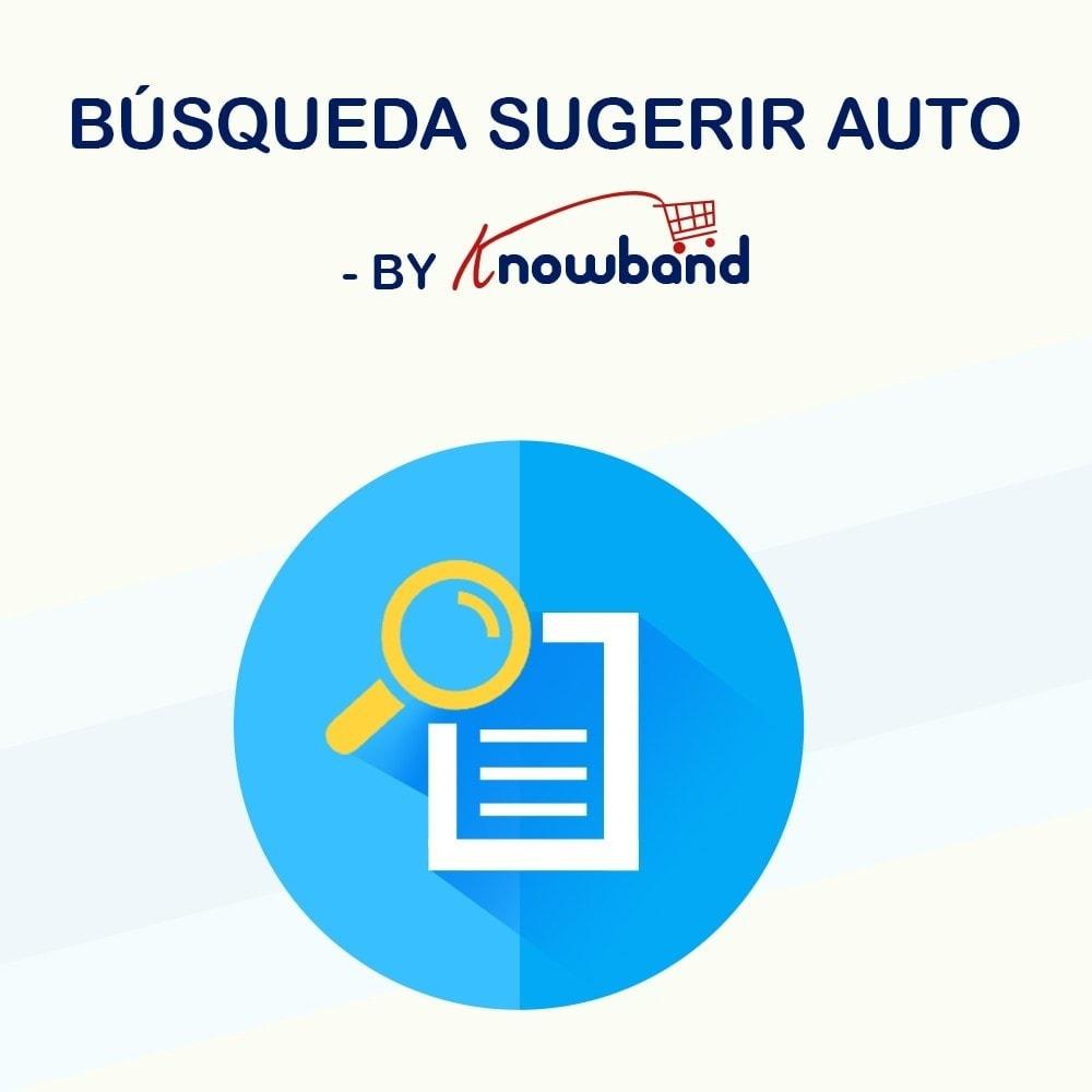 module - Búsquedas y Filtros - Knowband - Sugerencia de Búsqueda Automática - 1