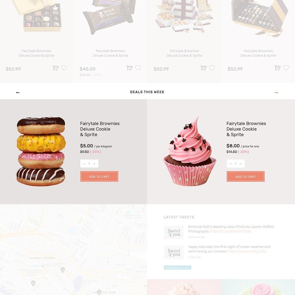 theme - Alimentos & Restaurantes - Sweet4you - Sweet Shop - 7