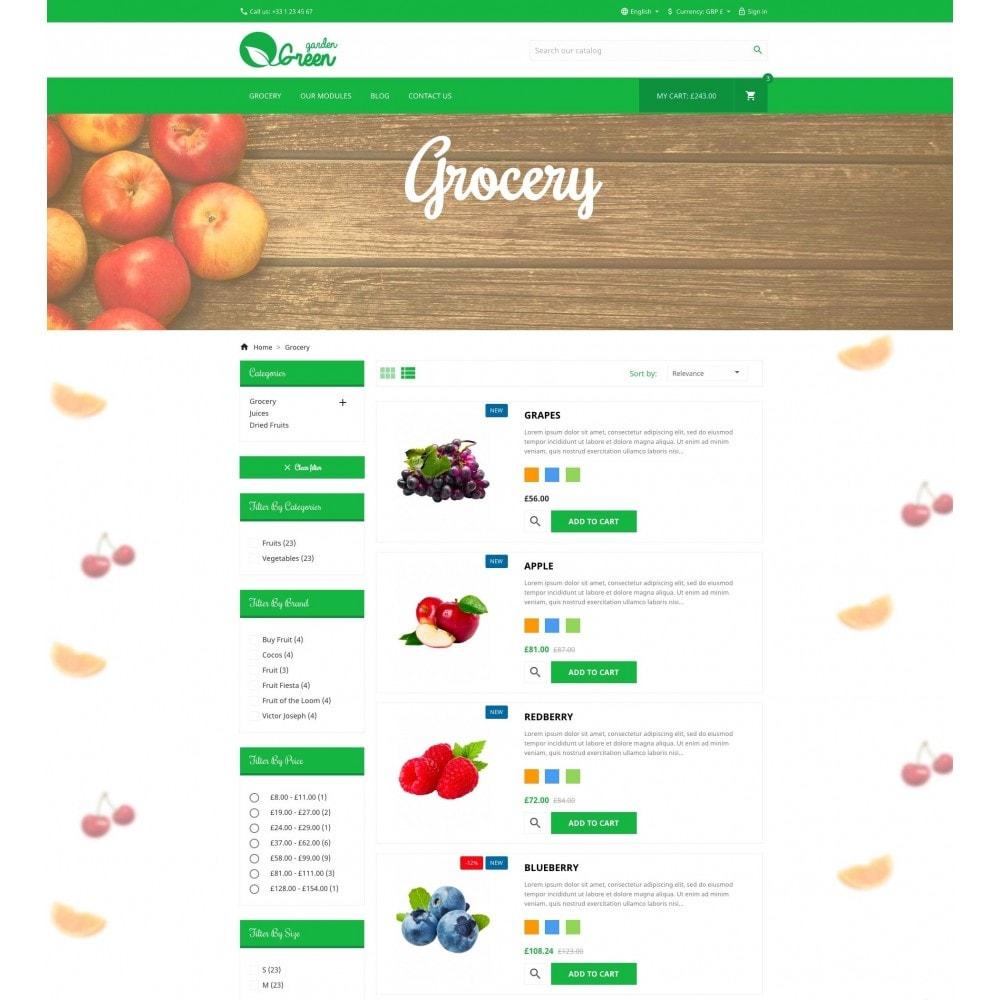 theme - Alimentation & Restauration - Green Garden - 4